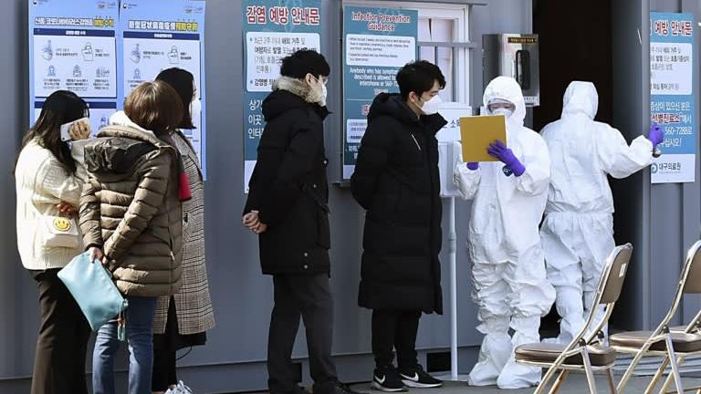 South Korea reports 142 more novel coronavirus cases