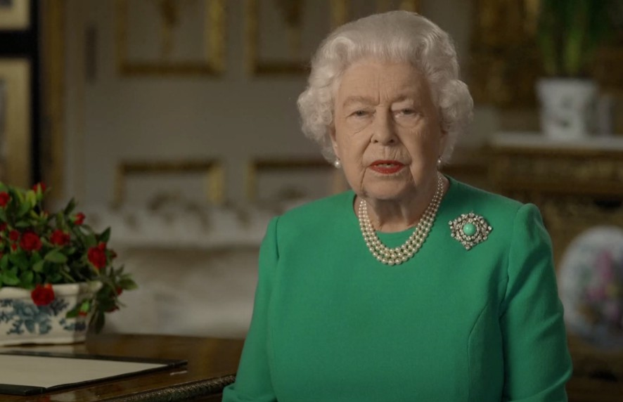 Queen tells UK to show 'British resolve' during pandemic