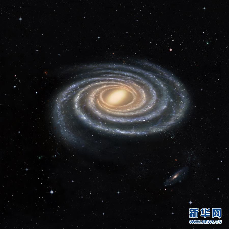 (图文互动)(1)中外联合团队绘制出目前最精确的银河系结构图