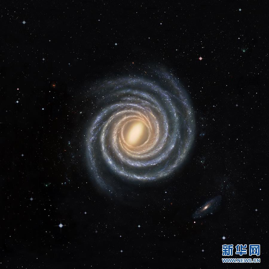 (图文互动)(2)中外联合团队绘制出目前最精确的银河系结构图