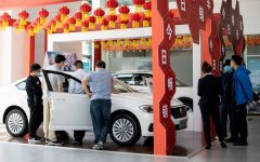 中国汽车销量重现两位数