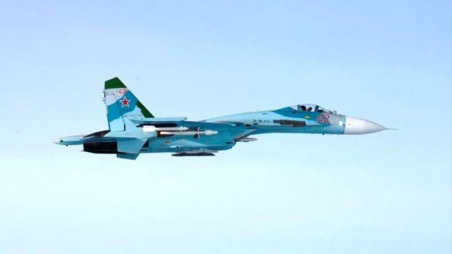Russian fighter jet intercepts