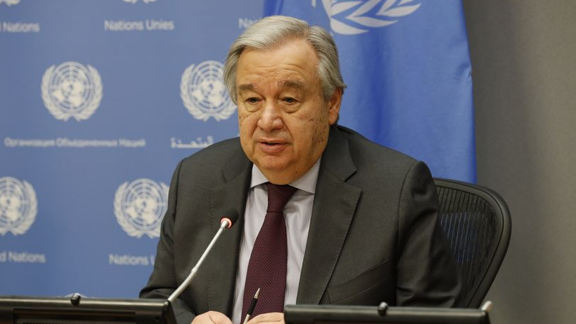 UN chief calls for 'meaningful' climate action in time of COVID-19