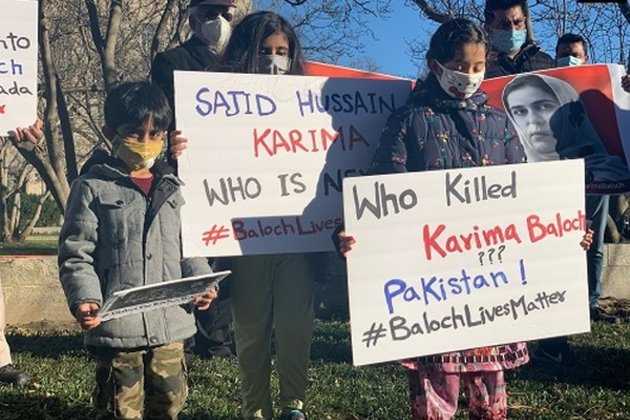 Protests held in Washington DC over Karima Baloch's deat