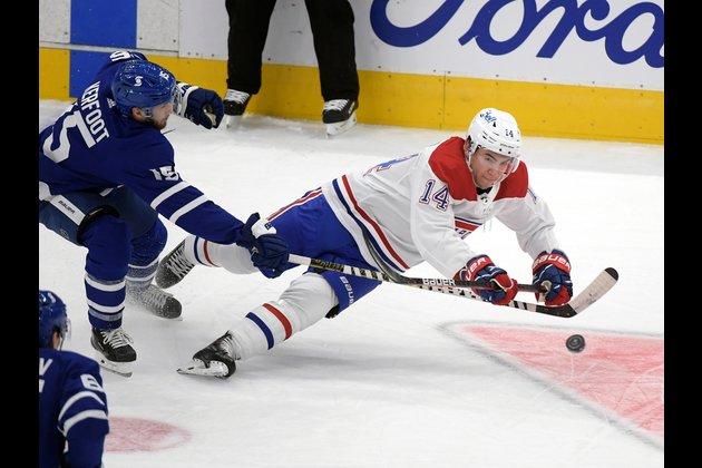 NHL roundup: Leafs notch OT win