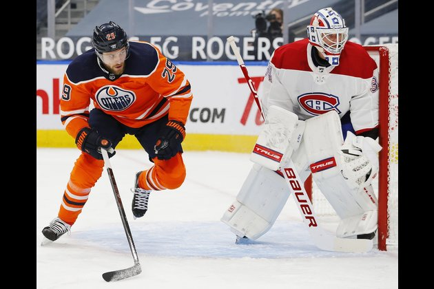 Canadiens defeat Oilers to earn