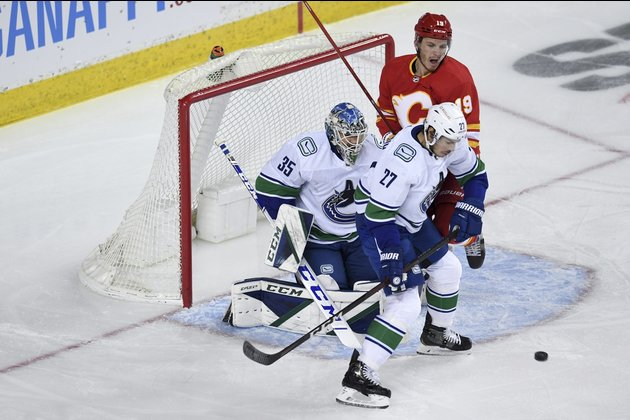 After slow start, Flames charge