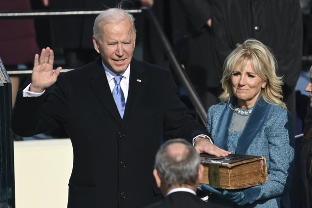 Joe Biden sworn in as America's 46th president