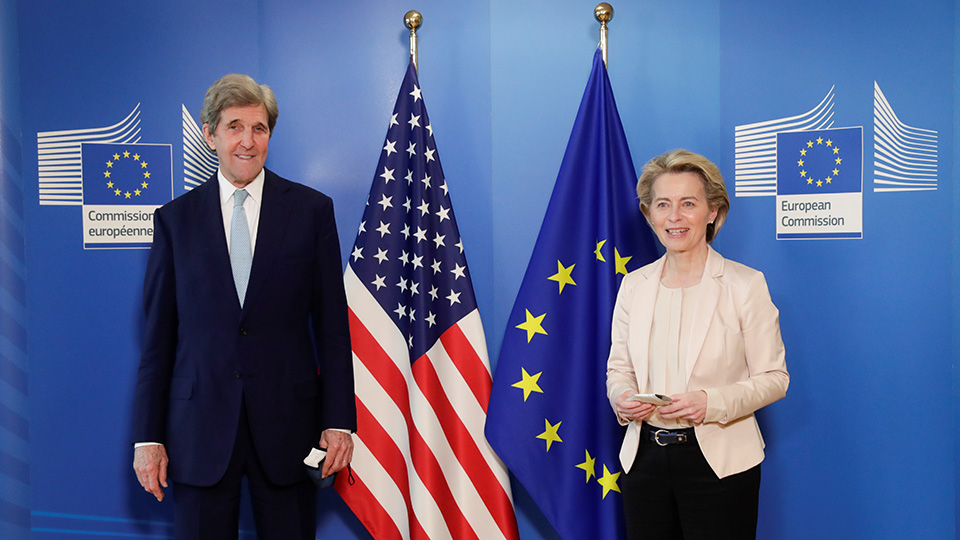 U.S. and EU commit to stronger cooperation to fight climate change