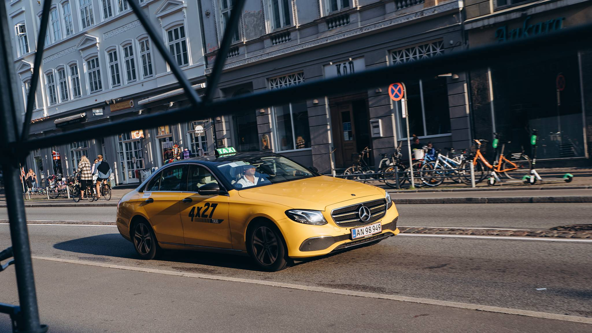 Taxi drivers in Denmark will have to prove Danish language skills under new law