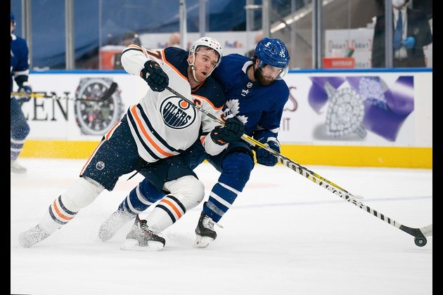 Road-weary Oilers back home to face Flames