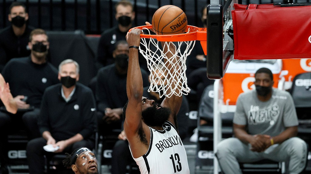 NBA highlights on Mar. 23: Harden carries Nets over Trail Blazers