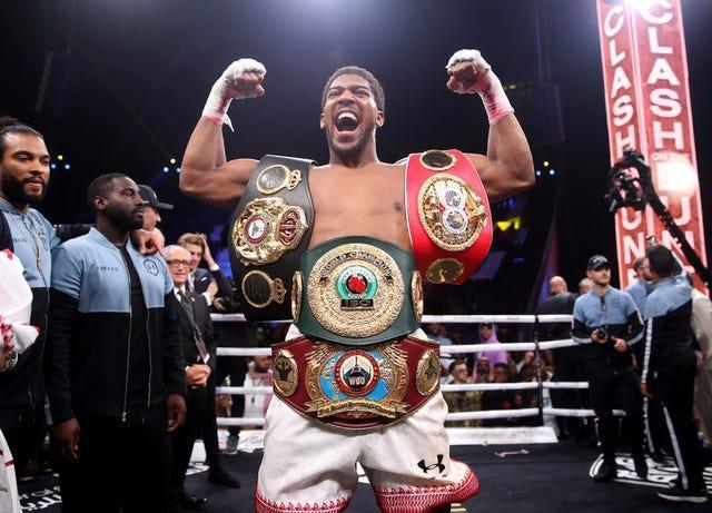 What is the latest on Anthony Joshua and Tyson Fury's blockbuster fight?