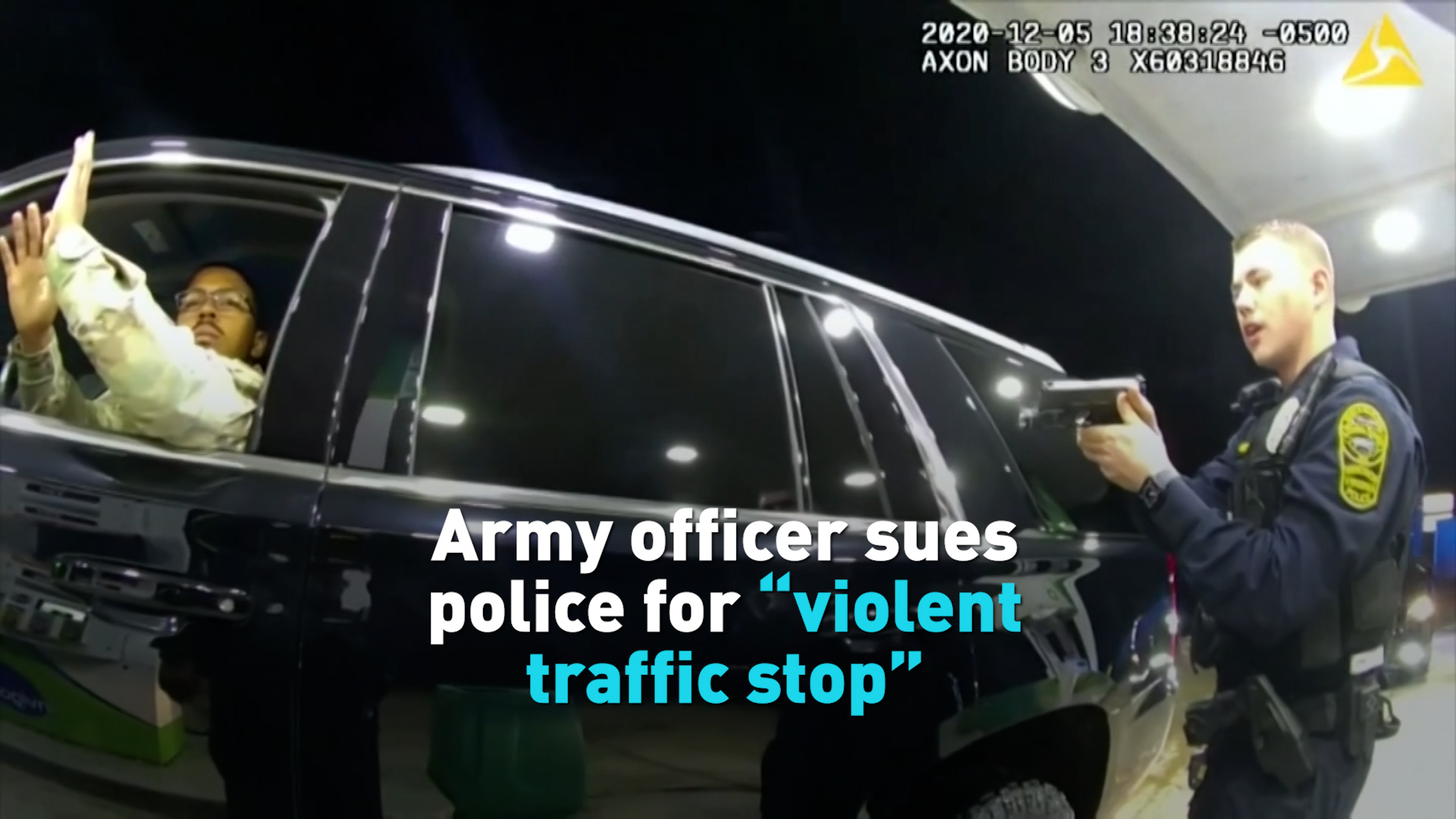 US police officer who pepper-sprayed Black-Hispanic army lieutenant gets the boot