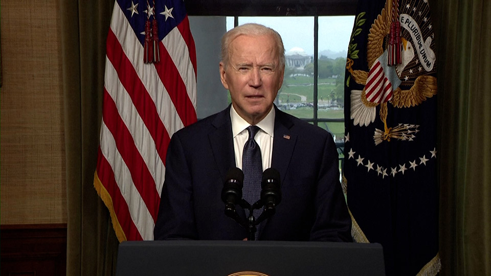 Biden announces U.S. troop withdrawal from Afghanistan by Sept. 11