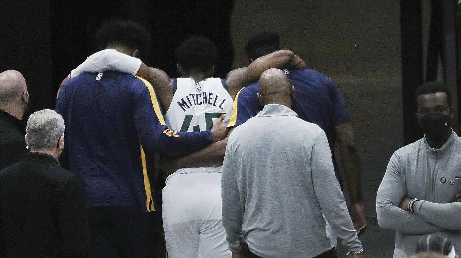 NBA highlights on Apr. 16: Donovan Mitchell's injury hurts Jazz