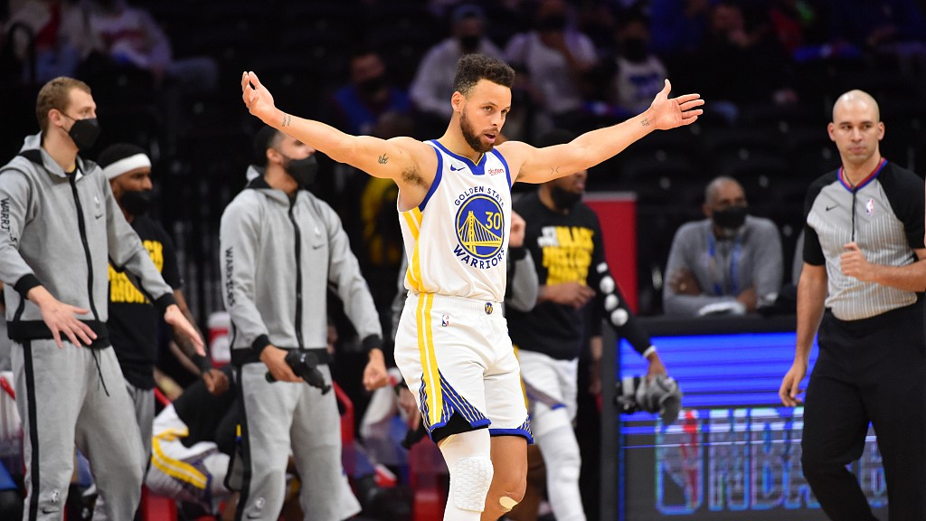 Let's hear it for Stephen Curry