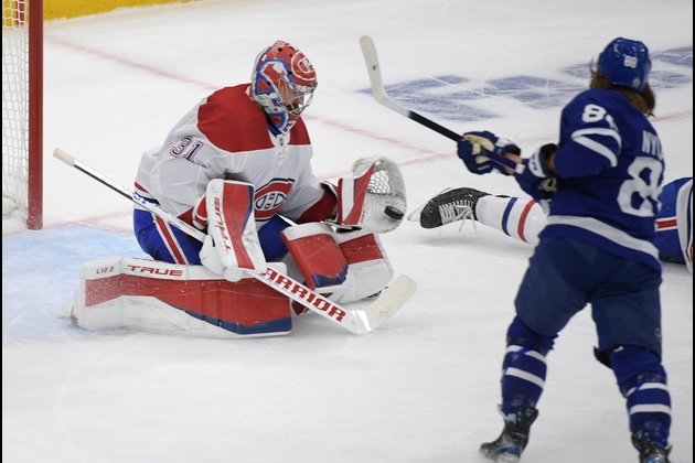 Nick Suzuki's OT goal keeps Canadiens alive in series with Leafs
