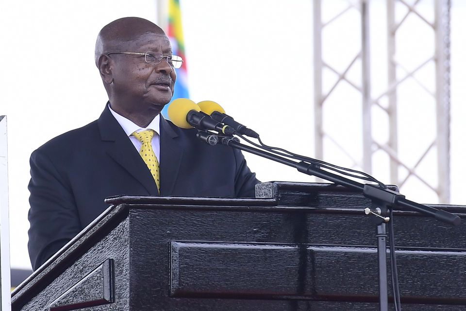 Uganda's new vice president, prime minister sworn in