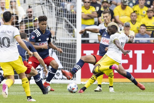 Crew rally for hard-fought draw against Revolution