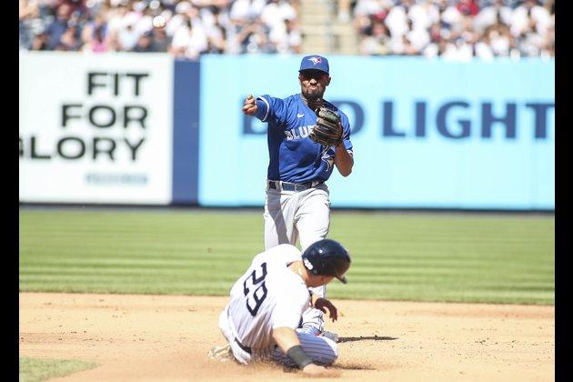 Marcus Semien (5 RBIs) powers Jays' rout of Yankees