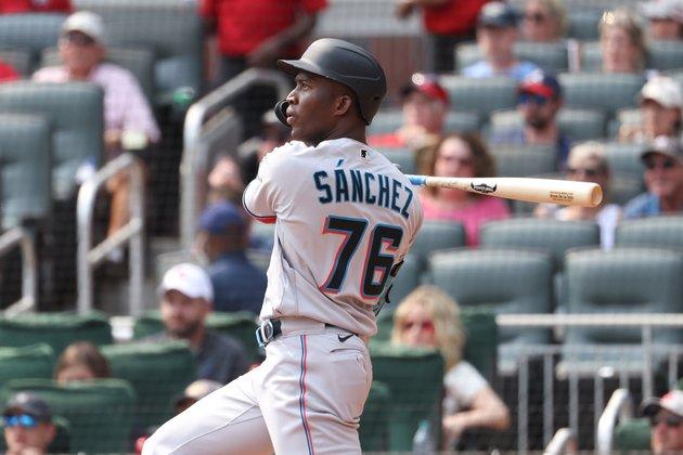 Marlins' Jesus Sanchez to bring home run streak to Washington