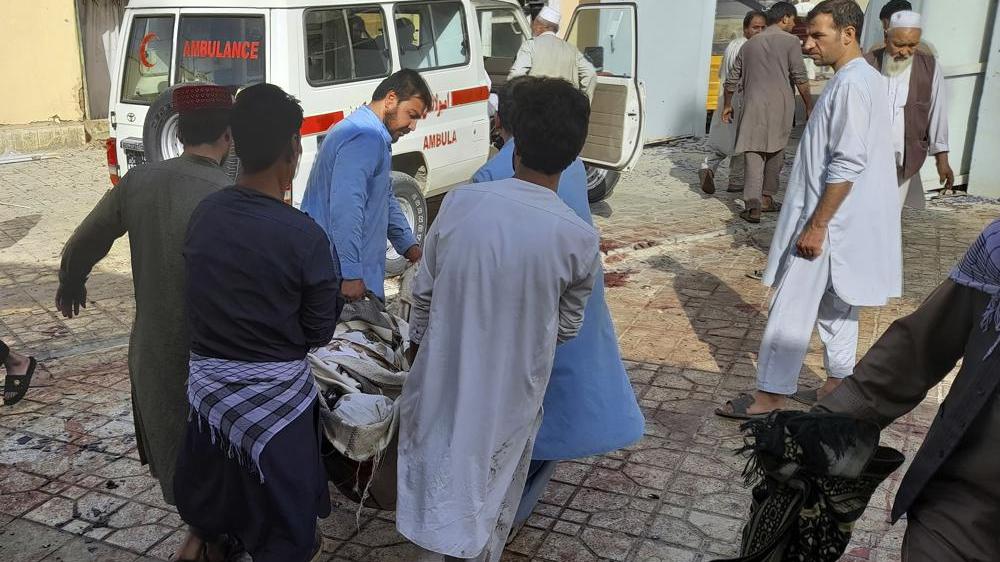 "Afghanistan: UN chief condemns ""horrific"" attack at Kunduz mosque"