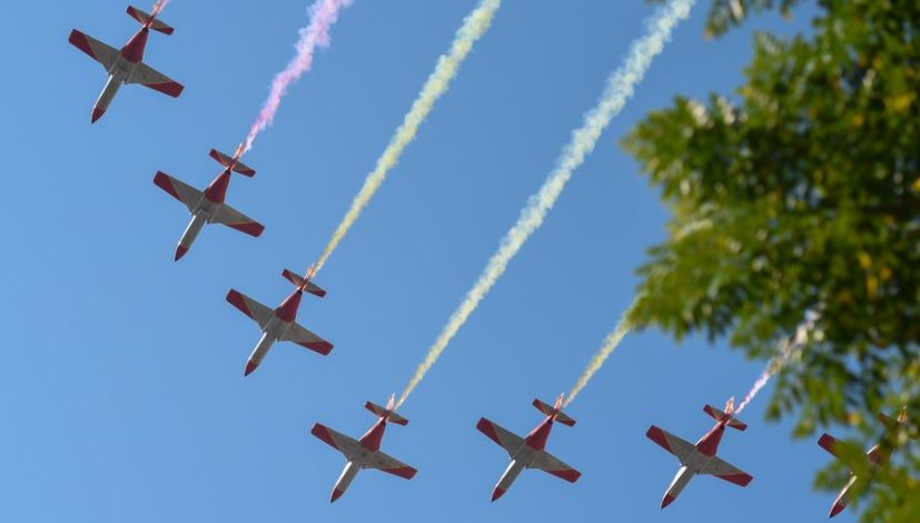 Spain celebrates National Day with military parade