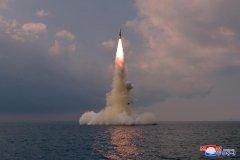 朝鲜成功试射新型
